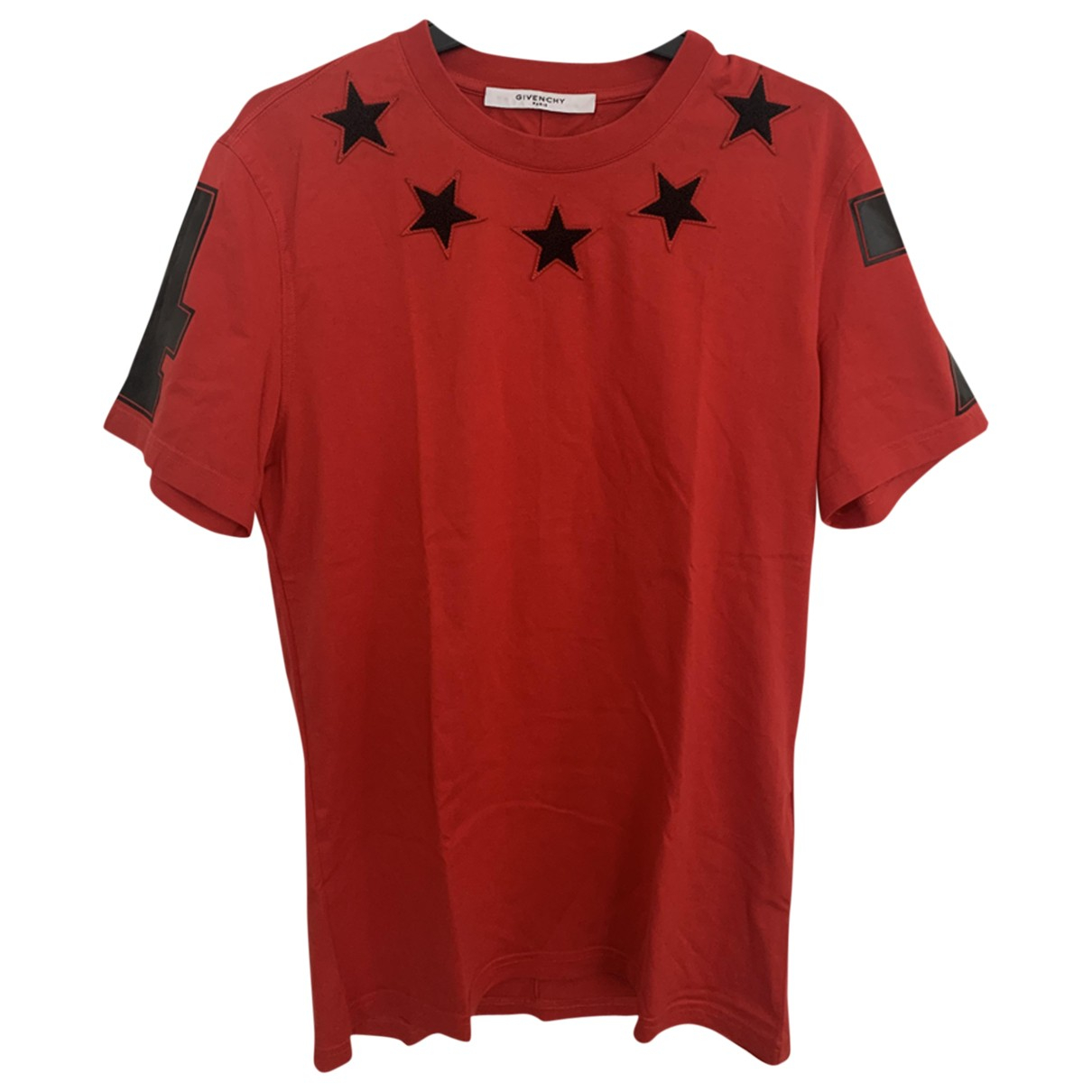Givenchy \N Red Cotton T-shirts for Men S International