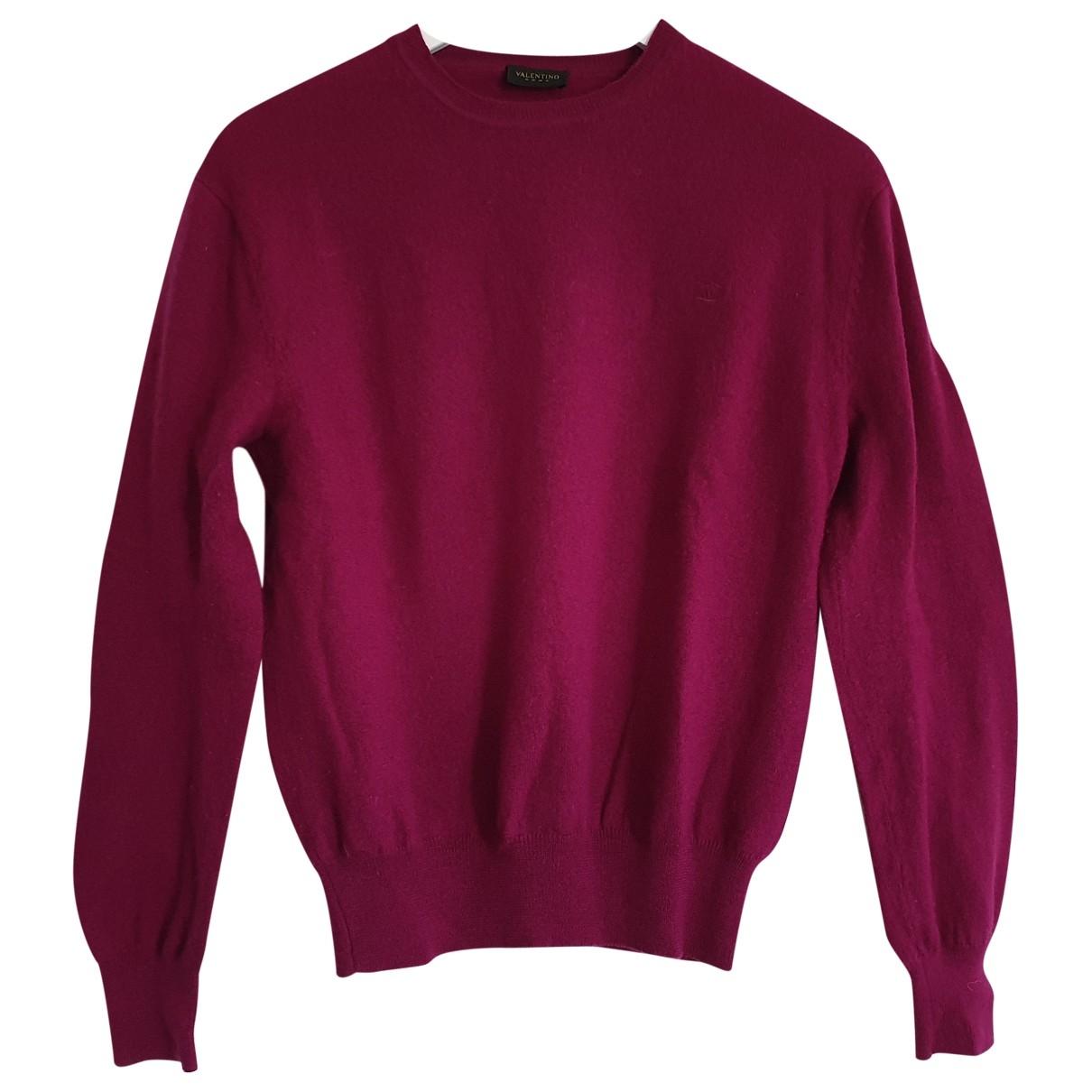 Valentino Garavani - Pull   pour femme en laine - rose