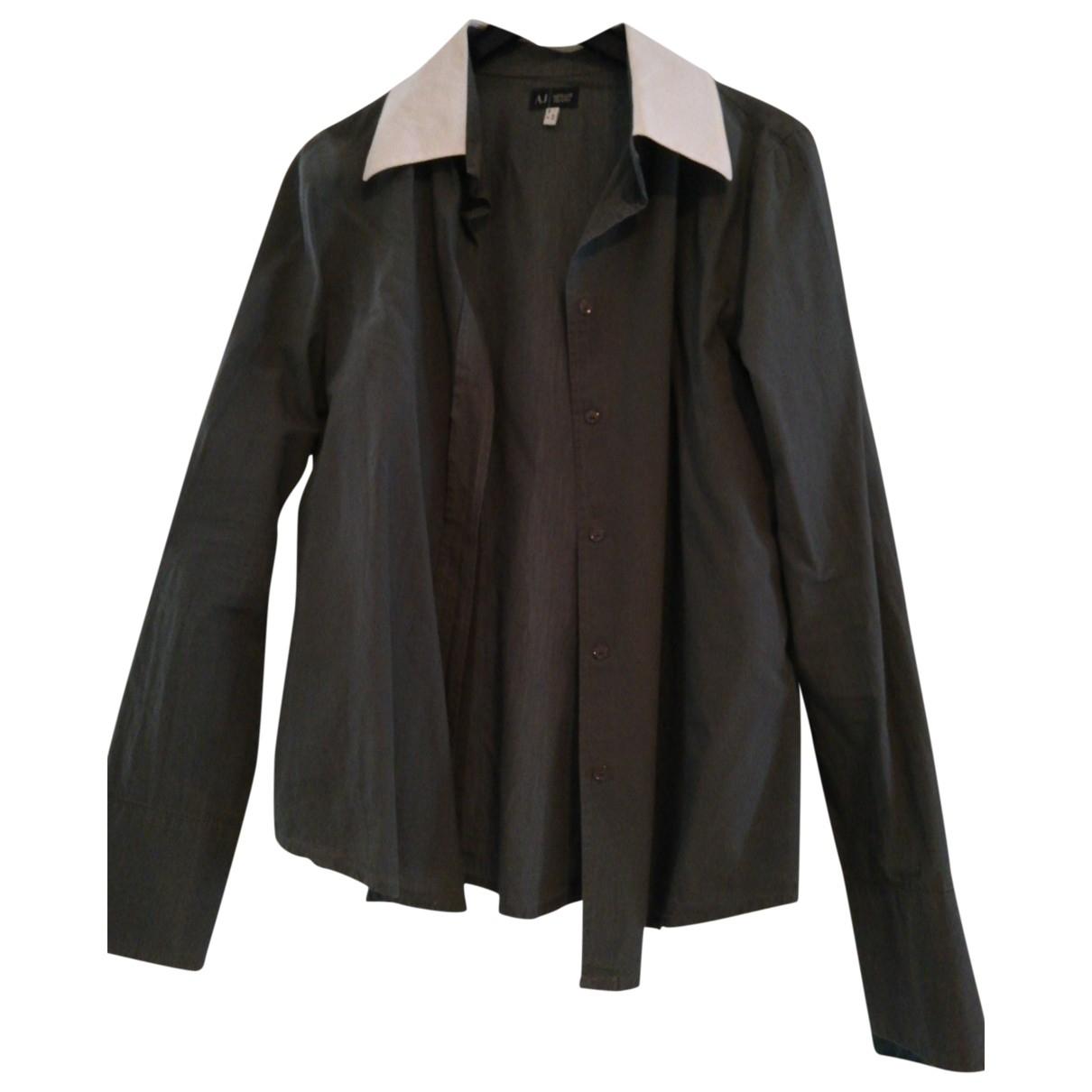 Armani Jeans \N Khaki Cotton  top for Women 40 IT