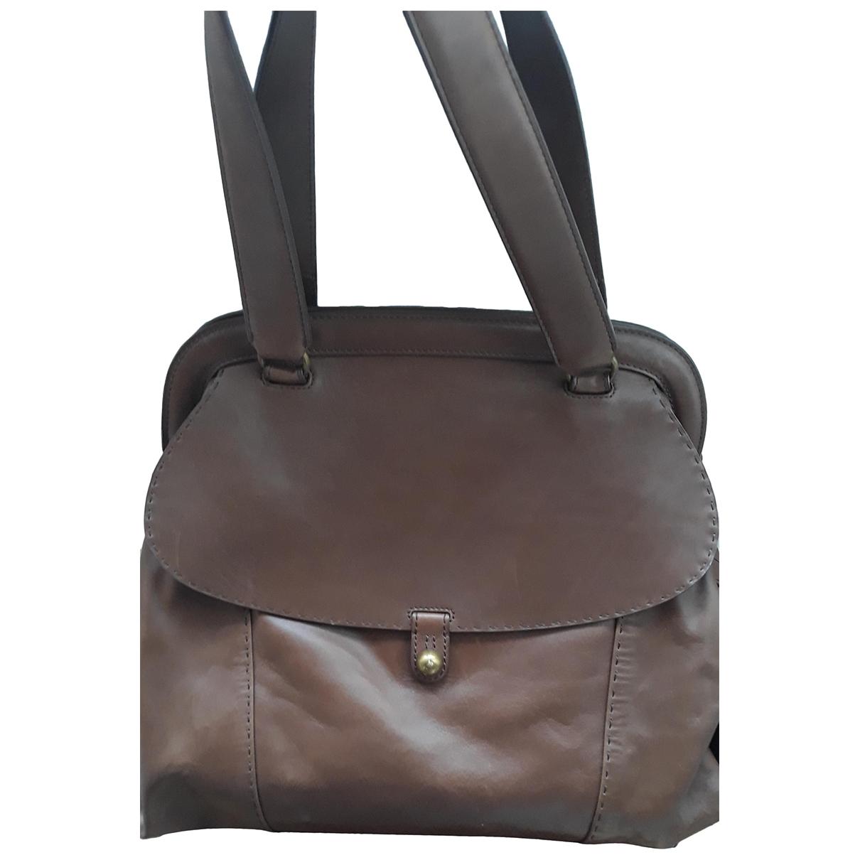 Vanessa Bruno \N Handtasche in  Braun Leder