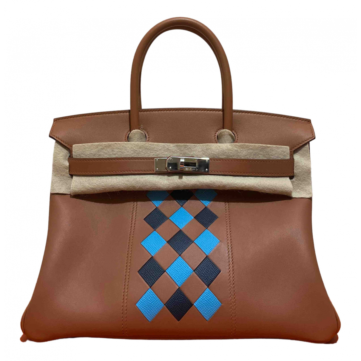 Hermès Birkin 30 Camel Leather handbag for Women \N