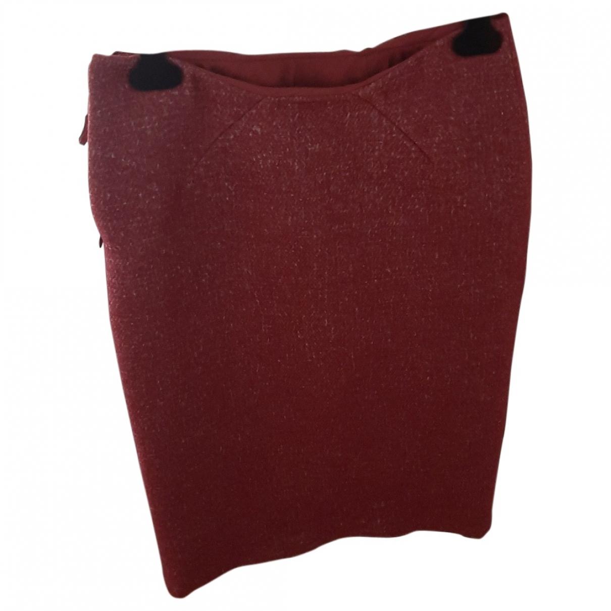 Bottega Veneta - Jupe   pour femme en cachemire - rouge
