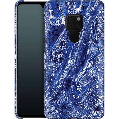 Huawei Mate 20 Smartphone Huelle - Marbled Blue von Amy Sia