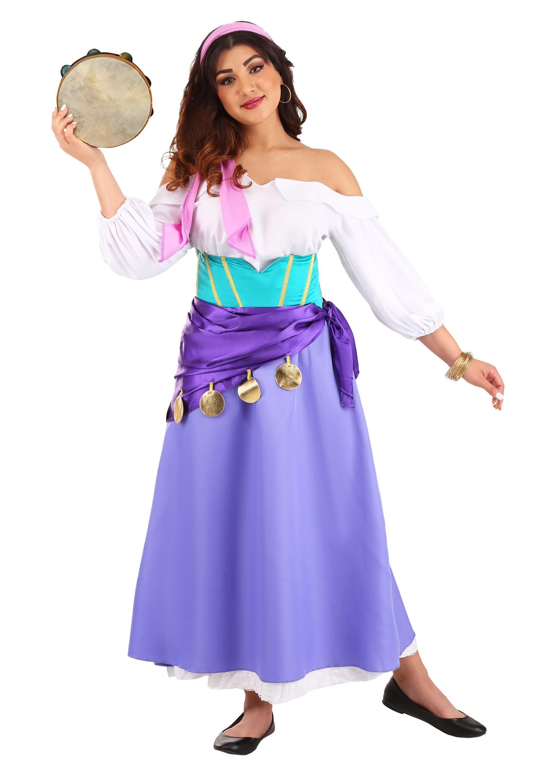 Womens Hunchback of Notre Dame Esmeralda Costume