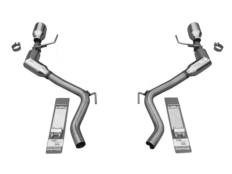 Solo Performance 993174SL Axle-Back Exhaust System Ford Mustang Ecoboost 2015-2019