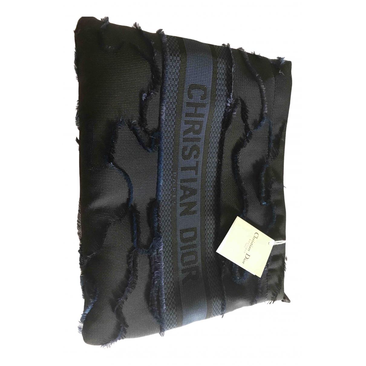 Dior N Blue Cloth Clutch bag for Women N