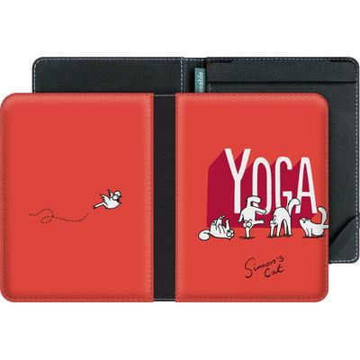 tolino vision 3 HD eBook Reader Huelle - Yoga Cat von Simons Cat