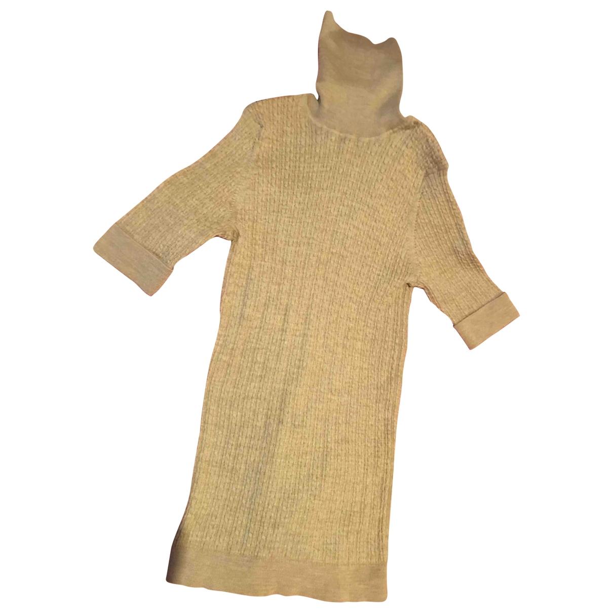 Carolina Herrera \N Pullover in  Kamel Wolle