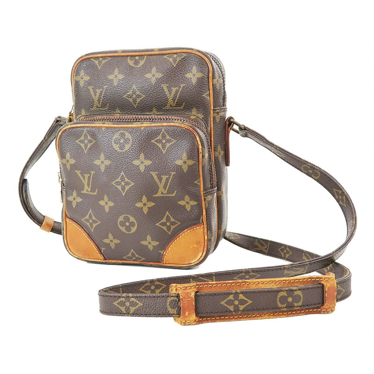 Louis Vuitton \N Brown Leather handbag for Women \N