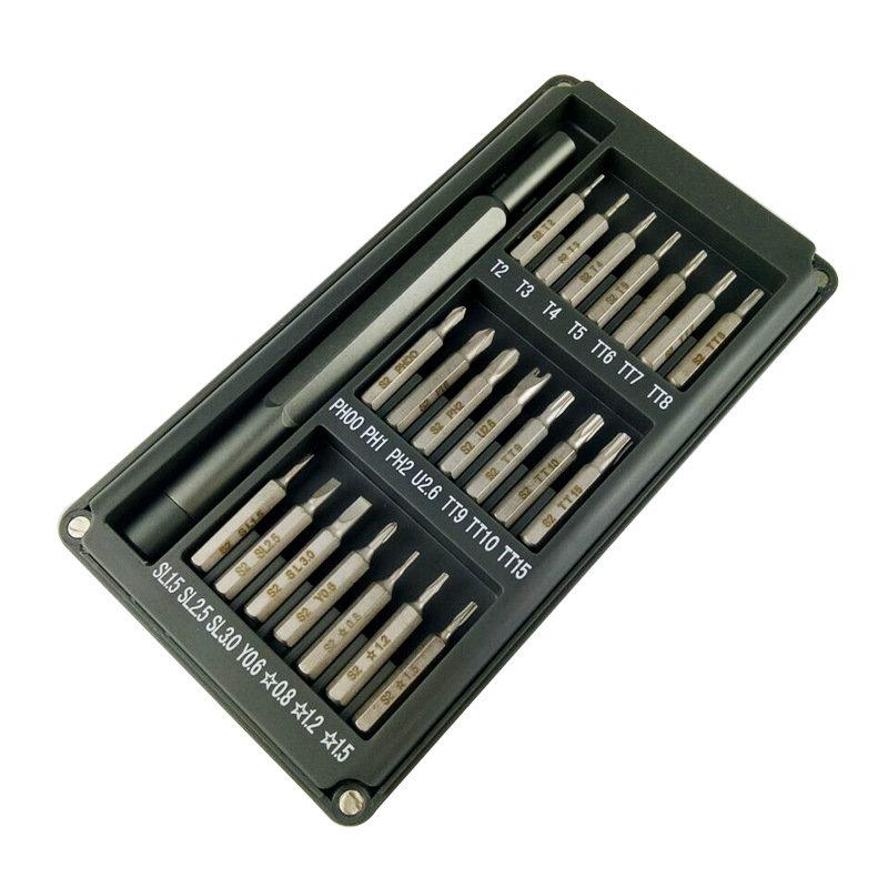 22 in 1 Multi-purpose Precision Screwdriver Set Aluminium Alloy Screw Driver Repair Tools