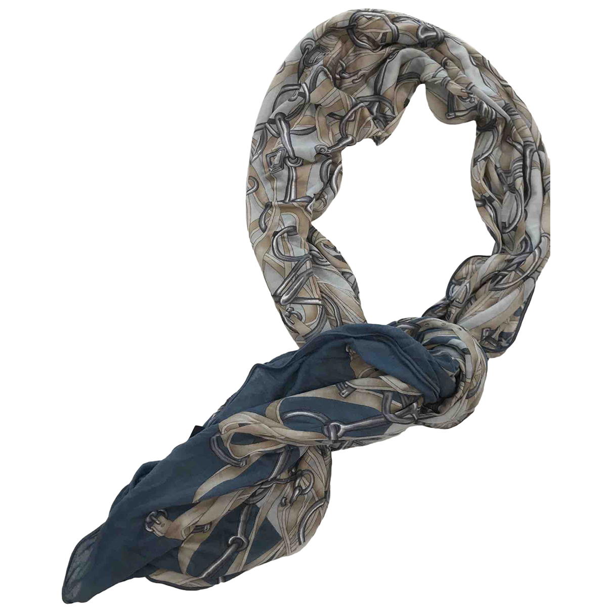 Gucci N Blue Cotton scarf for Women N