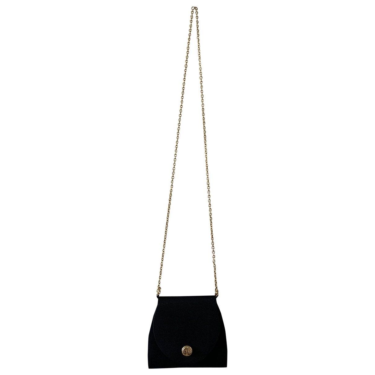 Guy Laroche \N Black Silk handbag for Women \N