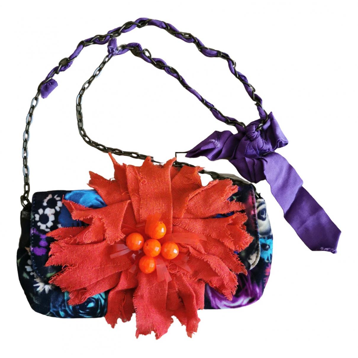 Lanvin For H&m \N Purple Cotton Clutch bag for Women \N