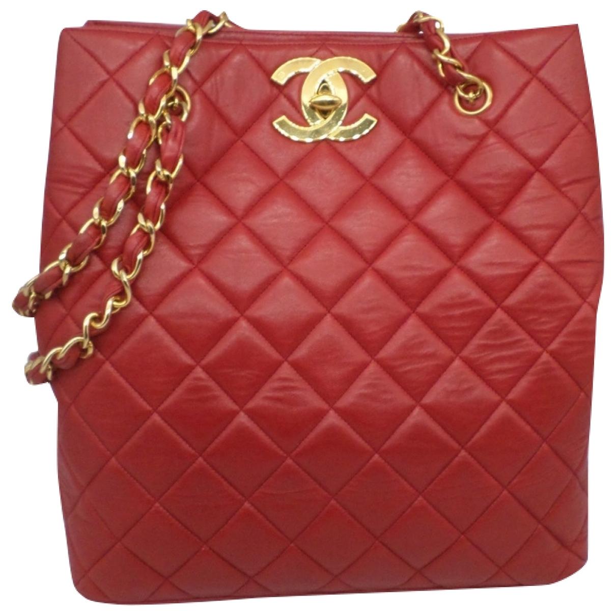 Cabas Grand shopping de Cuero Chanel