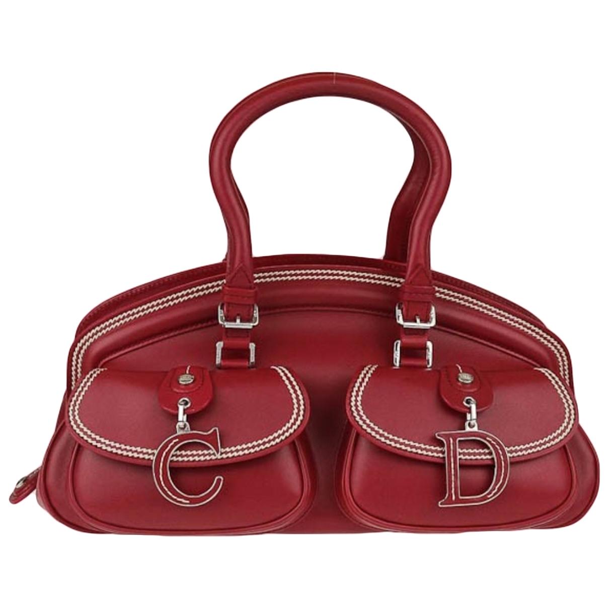 Dior Detective Handtasche in Leder
