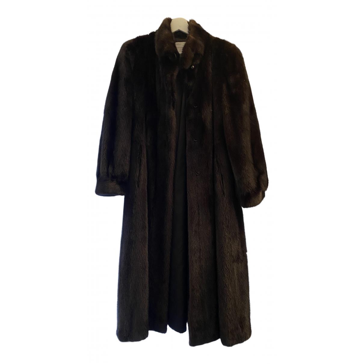 Sprung Frères N Brown Mink coat for Women M International