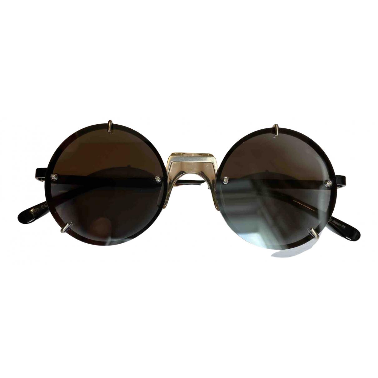 Vera Wang \N Black Metal Sunglasses for Men \N