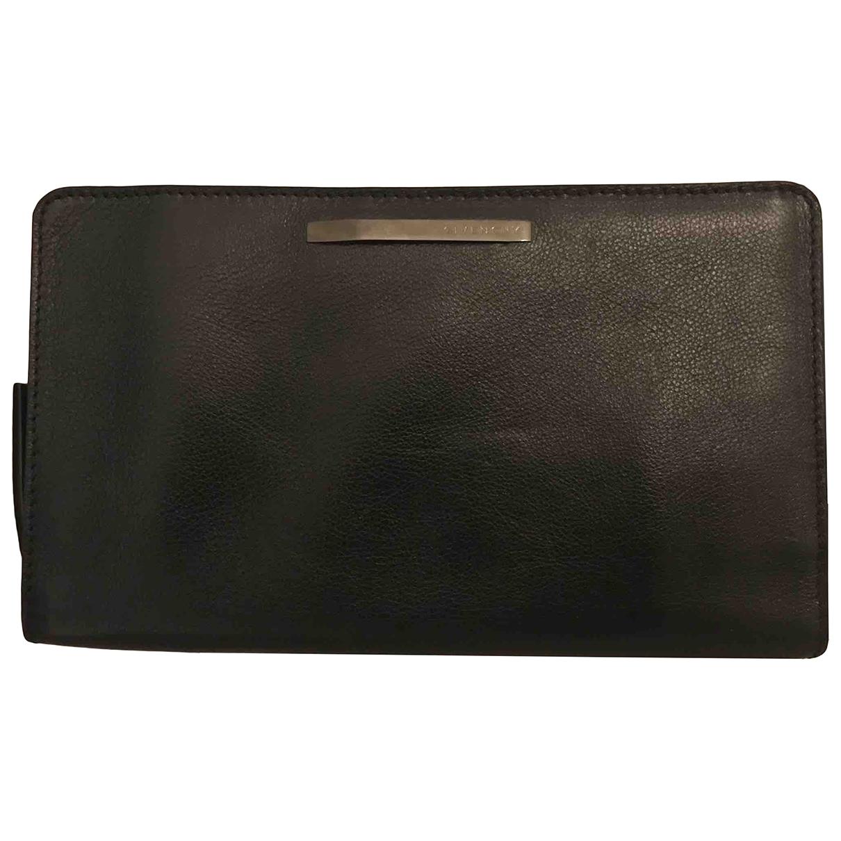 Givenchy - Petite maroquinerie   pour femme en cuir - noir