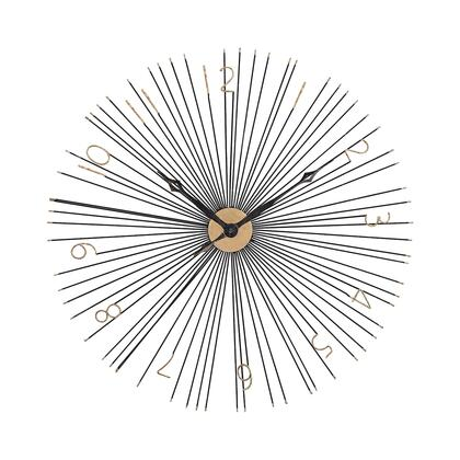 351-10230 Shockfront Wall Clock  In Black And