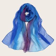 Schal mit Netzstoff