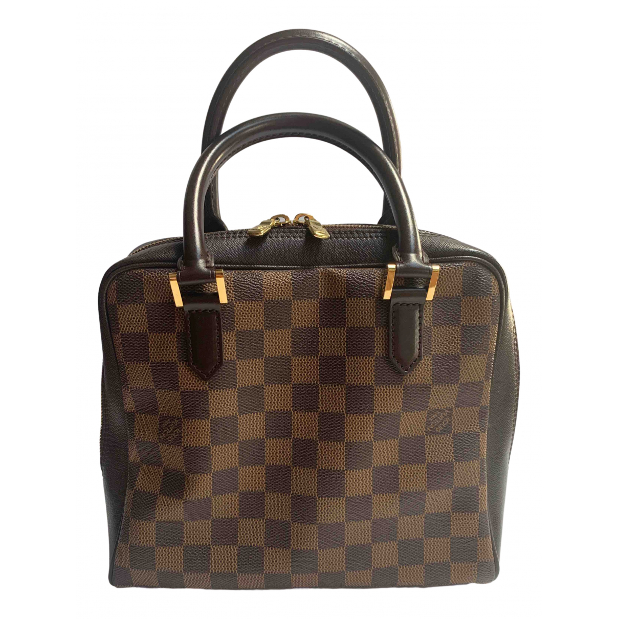 Louis Vuitton Brera Brown Cloth handbag for Women N