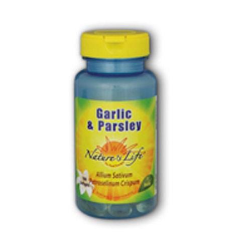 Garlic & Parsley 250 softgels by Nature's Life