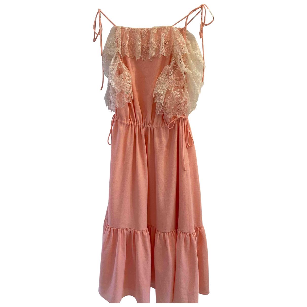 Claudie Pierlot \N Pink dress for Women 40 FR