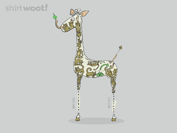 Blueprint For Building A Giraffe T Shirt