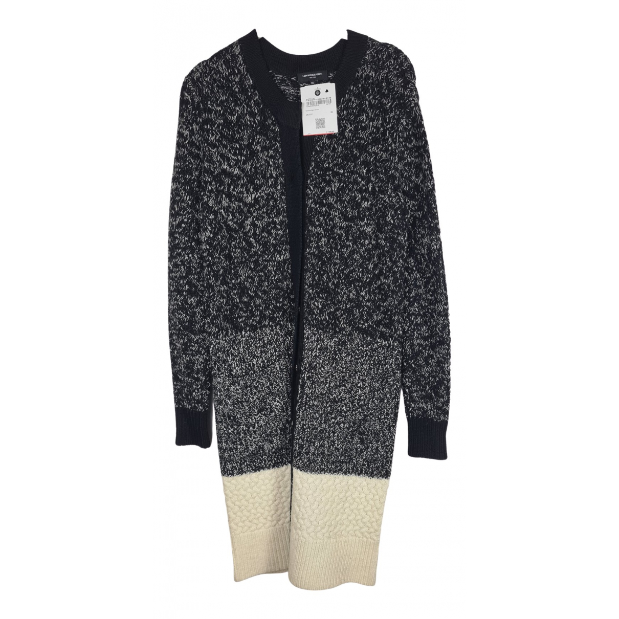 Lawrence Grey \N Pullover in  Schwarz Wolle