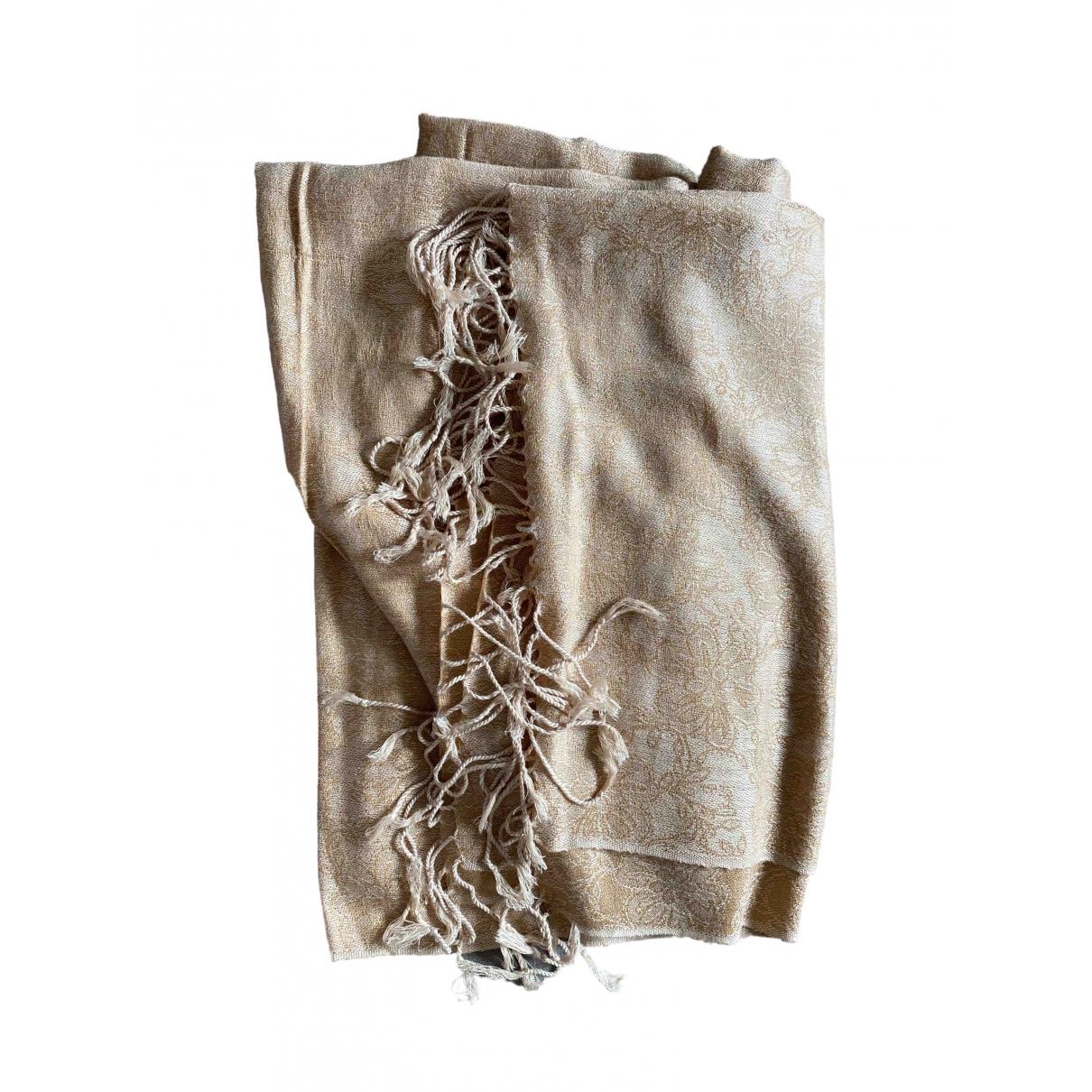 D&g - Foulard   pour femme en cachemire - beige