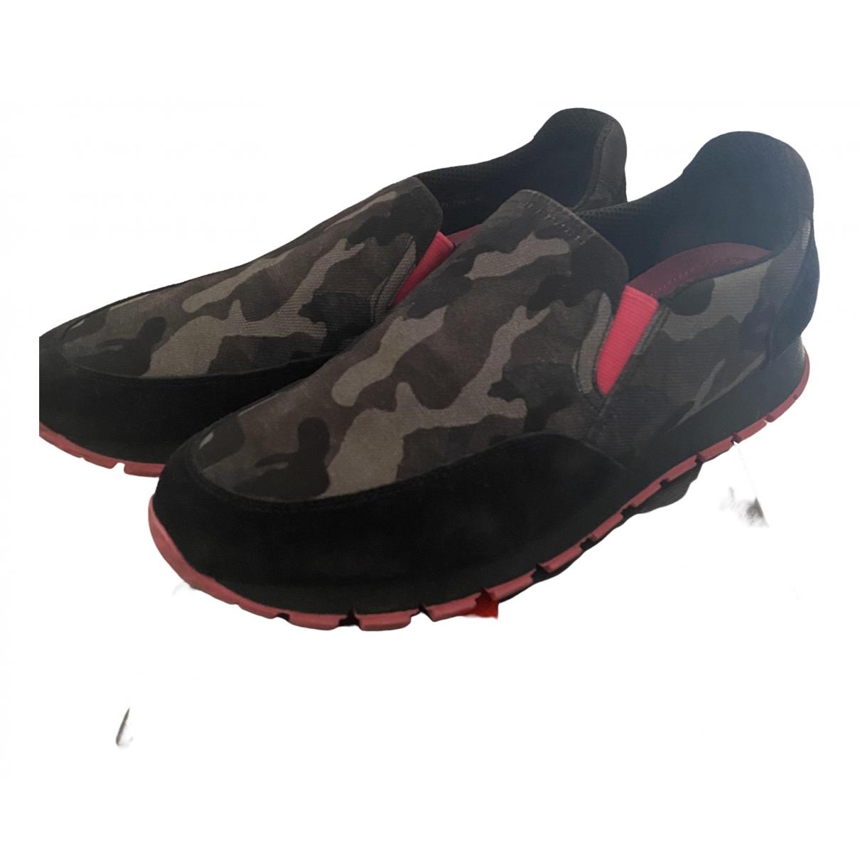 Prada \N Sneakers in  Bunt Leinen