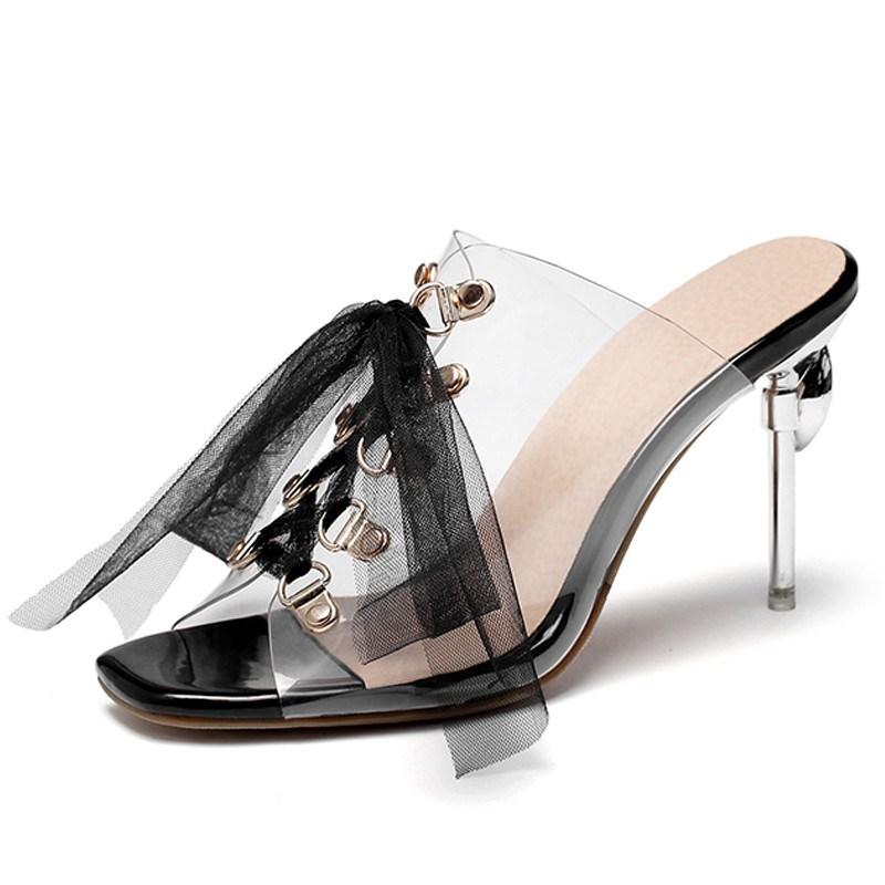 Ericdress Stiletto Heel Flip Flop Slip-On Casual Slippers