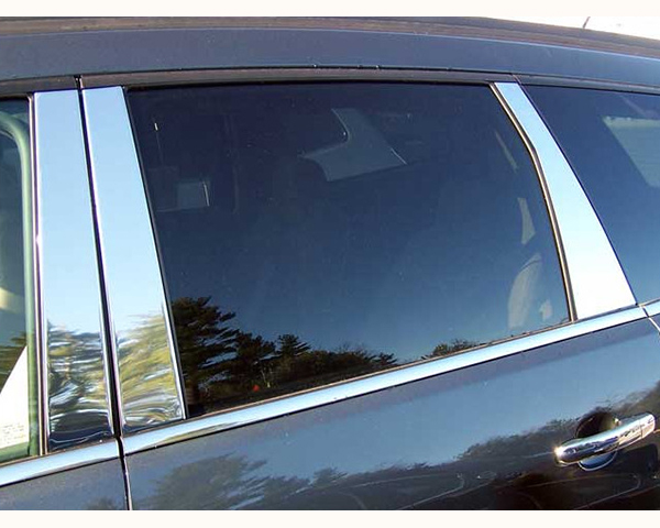 Quality Automotive Accessories 6-Piece Pillar Post Trim Kit Chevrolet Traverse 2009