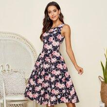 Vestidos Floral Elegante