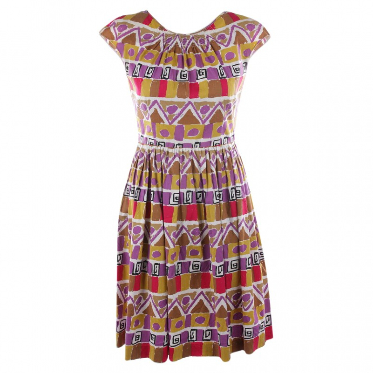 Prada - Robe   pour femme en coton - violet