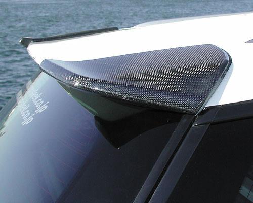 Hippo Sleek hp-leg-cbrfsplr Subaru BP5 Legacy Carbon Roof Spoiler