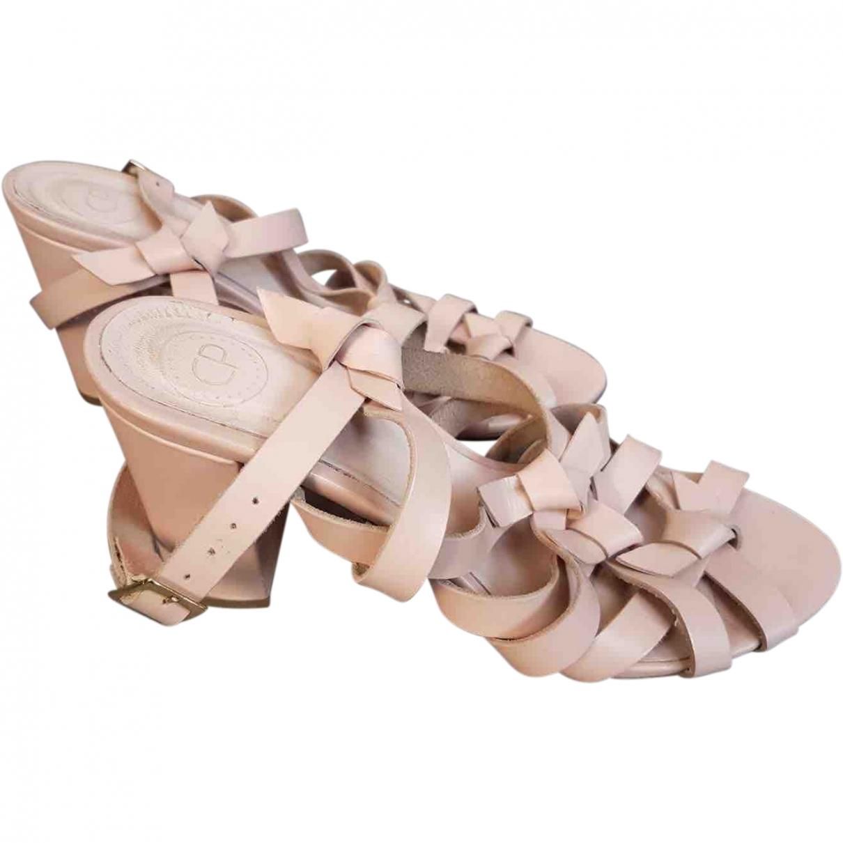 Claudie Pierlot \N Leather Sandals for Women 40 EU