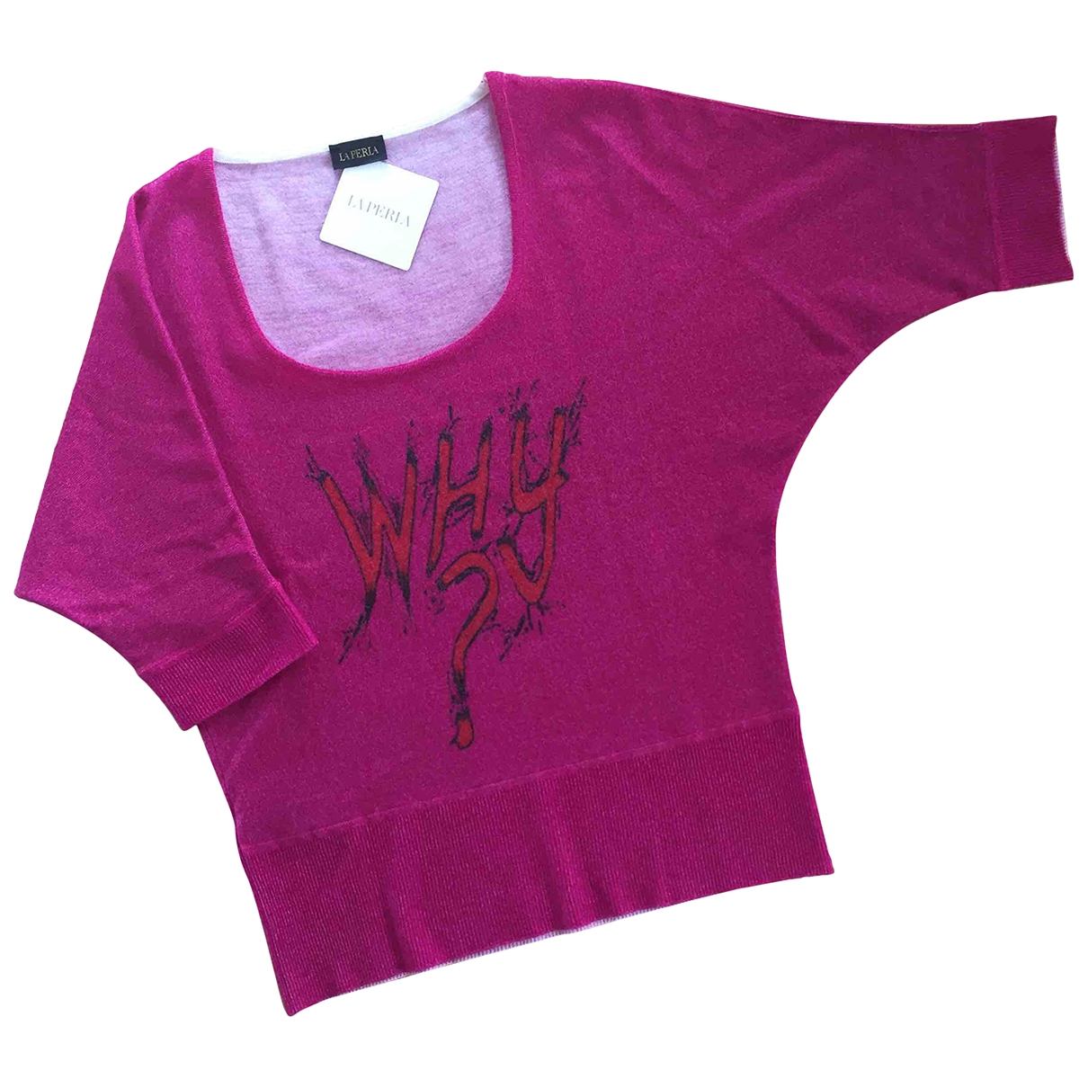 La Perla - Pull   pour femme en cachemire - rose