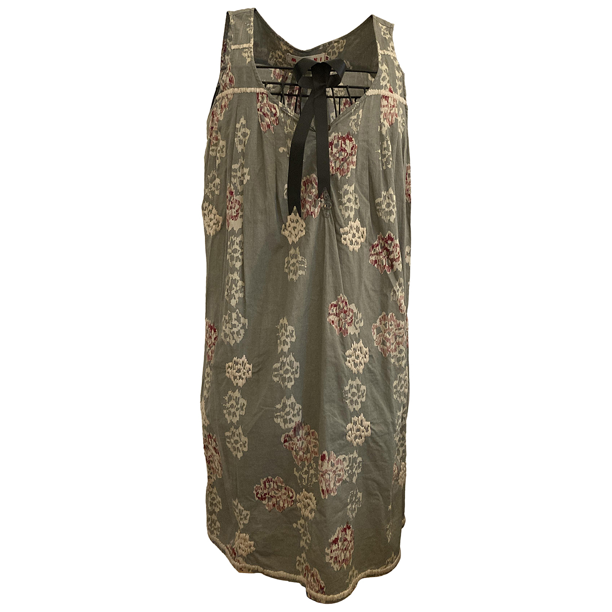 Marni N Anthracite Cotton dress for Women 38 IT