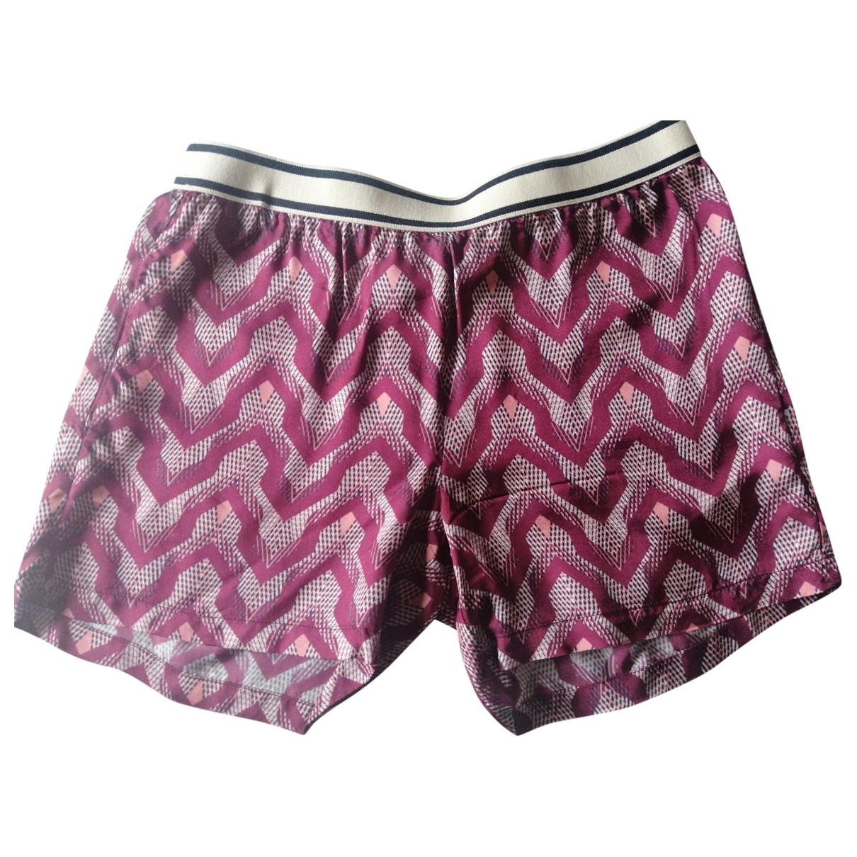 Jucca \N Burgundy Shorts for Women 40 IT