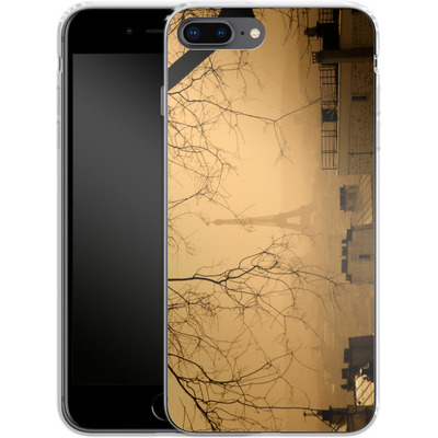 Apple iPhone 8 Plus Silikon Handyhuelle - Paris von caseable Designs
