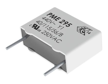 KEMET Paper Capacitor 1nF 480V ac ±20% Tolerance PME295 Through Hole +115°C (5)