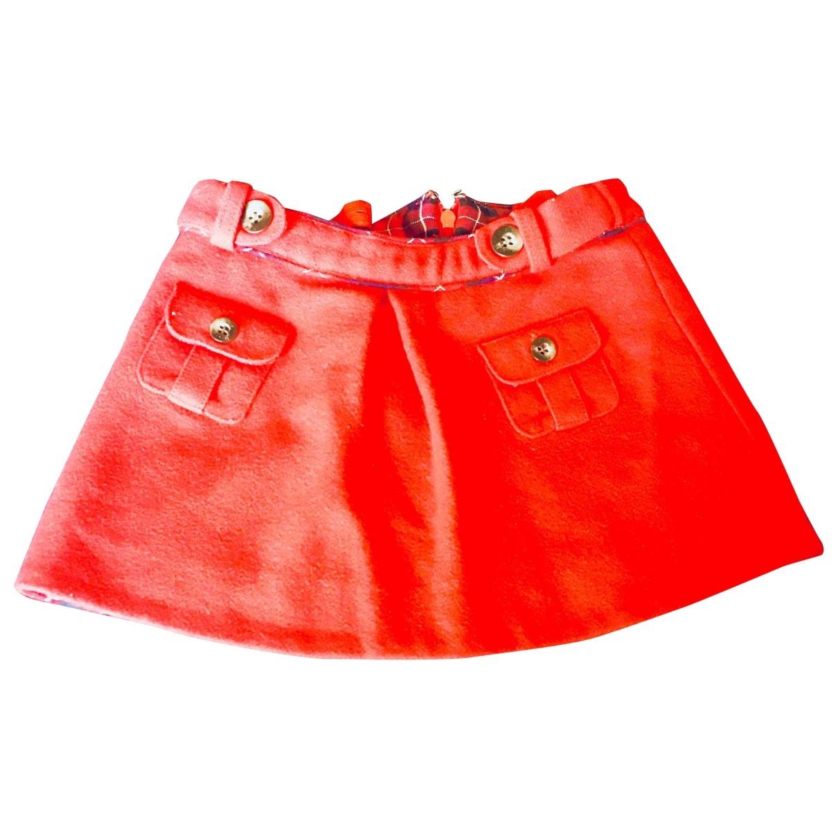 Jacadi \N Rocke in  Rot Wolle