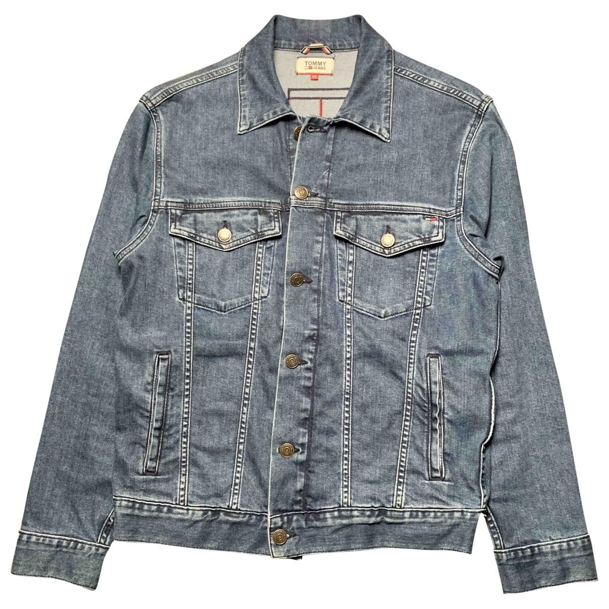 Tommy Jeans \N Jacke in  Blau Denim - Jeans