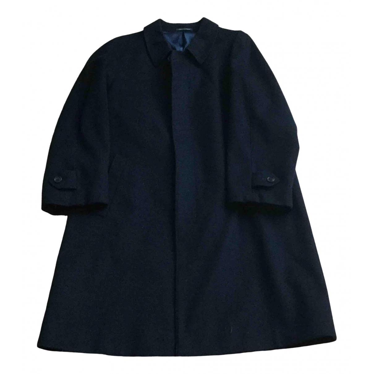 Corneliani \N Blue Wool coat  for Men 48 IT