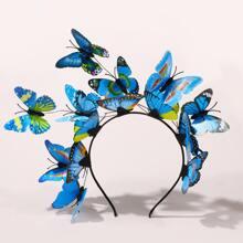 Schmetterlingsdekor Haarbuegel
