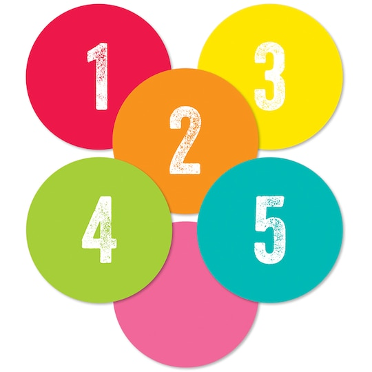 Schoolgirl Style™ Woodland Whimsy Student Numbers Mini Cut-Outs, 6 Packs Of 35 | Michaels®