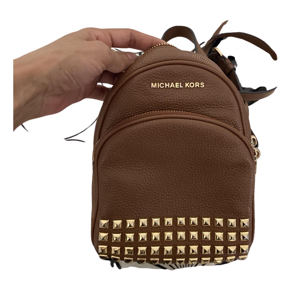 Michael Kors \N Camel Leather backpack for Women \N