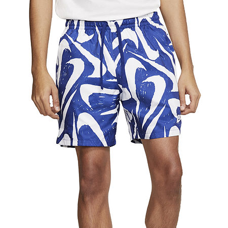 Nike Mens Pull-On Short, Medium , Blue