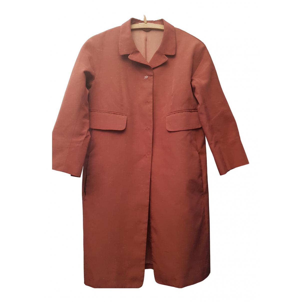 Carven - Manteau   pour femme en coton - rose